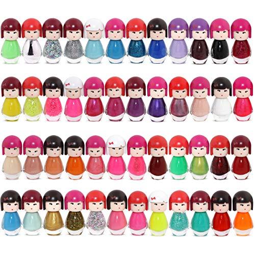 48 Esmalte De Uñas Muñeca En Forma De Kimono 48 Diferentes Colores Modernos Caja De Lujo