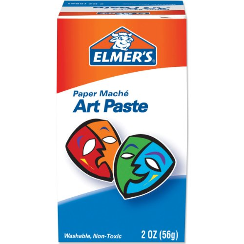 Elmer's Art Paste, Paper Mache, 2 Ounces