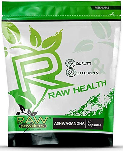 RP Ashwagandha Extract 5:1 500mg | 60 Vegetarian Capsules | High Strength Extract | Indian Ginseng Ayurveda | Adaptogenic Nootropic | Manufactured in ISO Licenced Facilities| Non GMO & Gluten Free