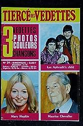 Le tiercé des Vedettes n°29 1969 05 Aphrodit\'s Child Mary Hopkin Maurice Chevalier