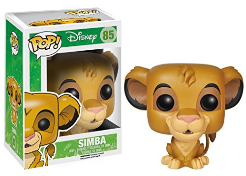 Funko Pop!-El Rey Leon Disney Vinyl: Lion King: Simba (3885)