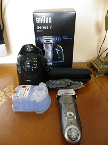 Braun Series 7 790cc-4 - Afeitadora eléctrica, con estación Clean & Charge