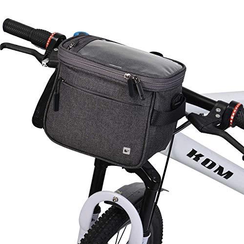per manubrio daj Borsa a tracolla impermeabile per bicicletta