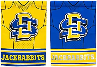 NCAA DS Suede Foil Garden Jersey Banner Flag (Set of 2) NCAA Team: South Dakota State University