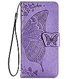 TANYO Schmetterling Flip Folio Hülle für LG Velvet 5G /