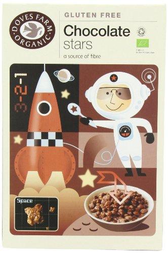 Doves Farm Schokoladensterne, 5 x 300 g