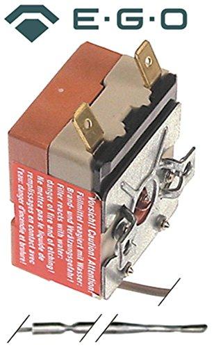 EGO 55.13183.020 Thermostat für Elektroherd Küppersbusch EEH413, EEH613, EEH410, EEH610, EEH210 max. Temperatur 440°C 1-polig