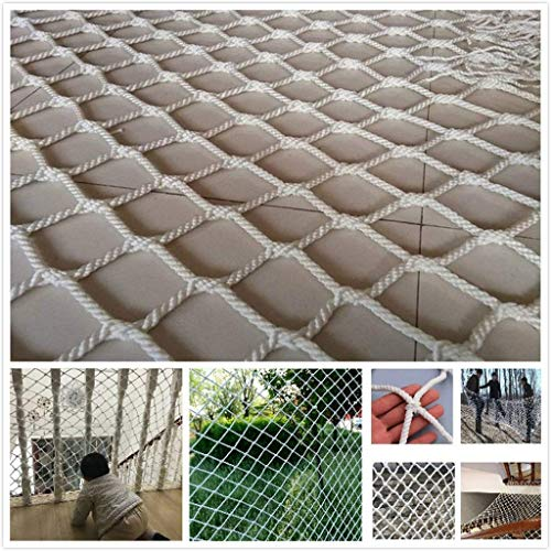 GWFVA Safe Net Outdoor Motion Klimmen Netto Netto Kinderbeveiliging Netto Outdoor Decoratie Netto Bescherming Netto Klimnet Balkon Trappen Anti-vallende Kleuterschool Hek Netto Weven Netto Planten Anti-dr