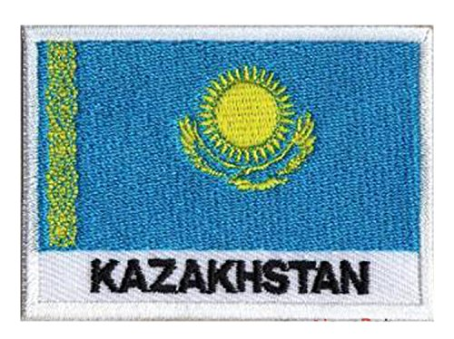 NagaPatches Aufnäher Flagge Kazakstan