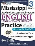 Mississippi Academic Assessment Program Test Prep: Grade 3 English Language Arts Literacy (ELA) Practice Workbook and Full-length Online Assessments: MAAP Study Guide