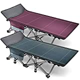 Barbella Folding Camping Cots for Adults, Portable Sleeping Cot Foldable Outdoor...