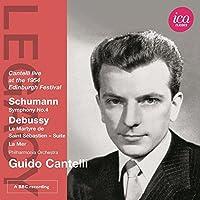 Legacy: Guido Cantelli by SCHUMANN / DEBUSSY (2012-09-25)