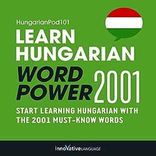 Learn Hungarian - Word Power 2001 Titelbild