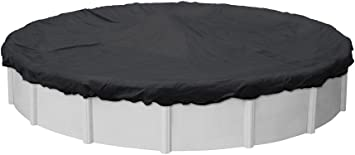 Amazon Com Pool Mate 3833 Pm Black Mesh Winter Pool Cover For Round Above Ground Swimming Pools 33 Ft Round Pool Garden Outdoor