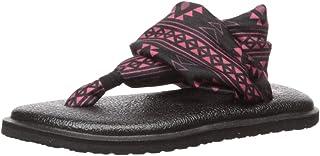 Sanuk Kids' Lil Yoga Sling 2 Prints Flat Sandal