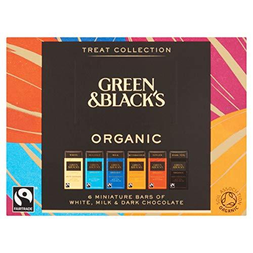 Green & Black's Organic Chocolate Bar Treat Collection 90g
