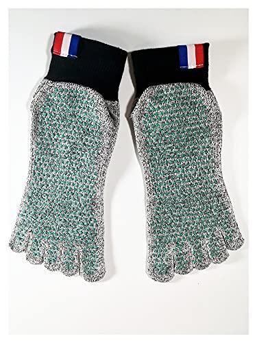 calcetines de dedo del pie para las mujeres 5 Toe Cut Remessant Socks Non Slip Surfing, Yoga Ballet Fitness Deporte Medias Anti-Skid Cortes Resistentes a Buceo Socking Socks calcetines del dedo del pi