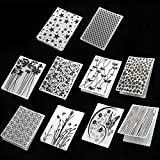 10 Styles Plastic Embossing Folder DIY Craft Template Molds Stamp Stencils Scrapbook Paper Cards Photo Album...