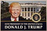 Präsident Donald Trump Amtseinführung Poster Set von