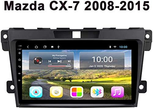 auto navigazione, 9'Stereo Android 9.0 Autoradio Capo Unità per la 2007-2015 Mazda CX-7 Car DVD GPS sistema WiFi Bluetooth,4G + WIFI + 2G 32G