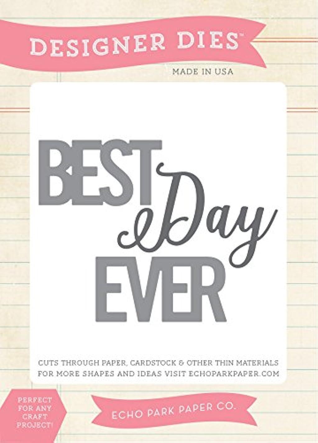 Echo Park Paper Company Best Days Ever Die Set
