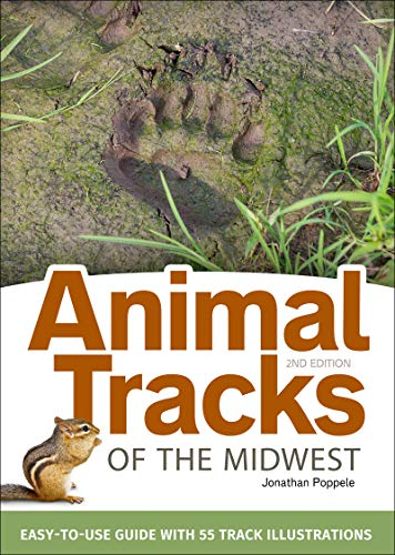 Animal Tracks of the Midwest Field Guide: Easy-to-Use Guide with 55 Track Illustrations