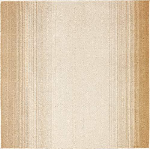 スミノエ(Suminoe) ラグ アイボリー 190×190cm マール ペット消臭 13137735