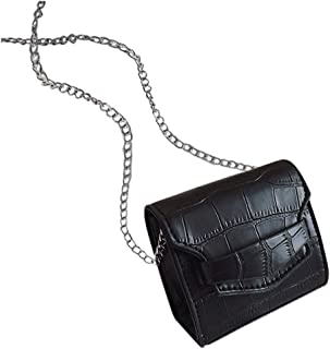 Ultramall Mini Small Square Bag Fashion New Women Bag Chain Shoulder Messenger Bag For Women