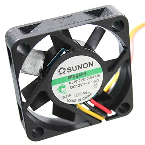 SUNON Ventilateur//Fan 12V 30x30x10mm 7,77m3//h 20dBA Original MF30101V2-1000U-G99 Meilleur silence et Performances facilement