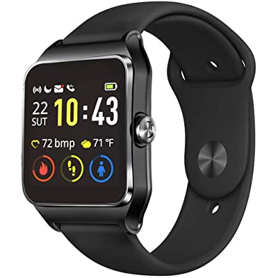 MorePro GPS Smart Watch with 17 Sports Mode Cyc...