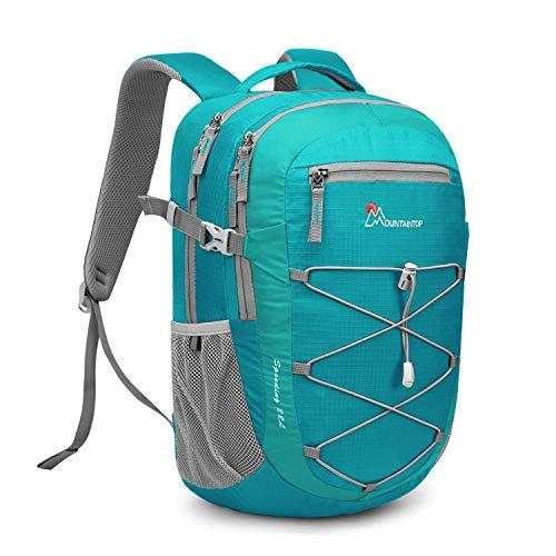 MOUNTAINTOP 22 Liter Rucksäcke Damen Herren Backpack Wanderrucksack Trekkingrucksack Outdoorrucksack Daypacks (Türkis)