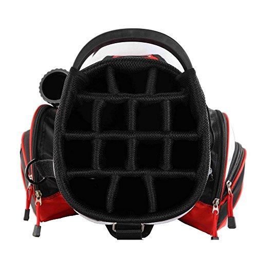 PROSiMMON Tour 14 Way Cart Golf Bag Black/Green