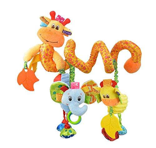 Bambino Bambini spirale Attività appendere le decorazioni di Pram Passeggini Seggiolino Auto culla della base della campana del fumetto regalo Giocattoli