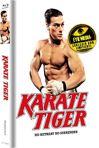 Karate Tiger - Mediabook - Cover E/wattiert - Limitiert auf 500 Stück - Uncut [Blu-ray]