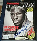 Ben Wallace Detroit Pistons SIGNED AUTOGRAPHED 06-07 Street & Smiths Magazine - Autographed NBA Magazines