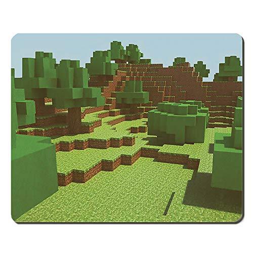 Mousepad für den Computer - Minecraft Pixel Welt - Gaming Animation
