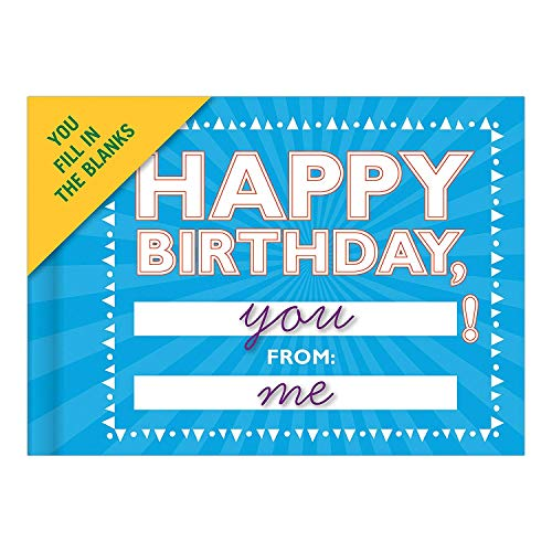 Knock Knock Happy Birthday to You Fill in the Love Book Fill-in-the-Blank Gift Journal, 4.5 x 3.25-inches Photo #9