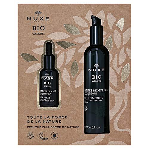 Coffret Nuxe Bio sérum et eau démaquillante