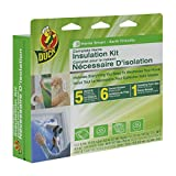 Duck 283574 Complete Home Insulation Kit, Includes Window Kit for Five 3 x
