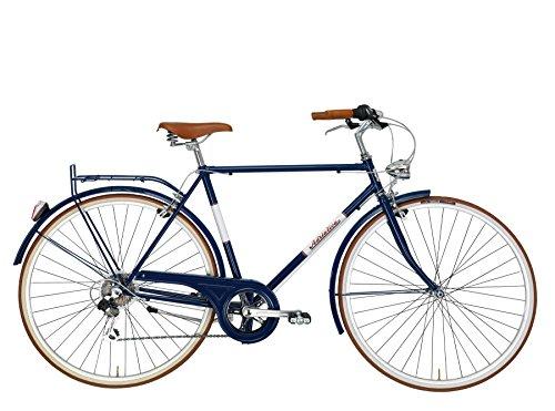 Cicli Adriatica - Bicicletta Condorino da Uomo Telaio in Acciaio 28' (Blu)