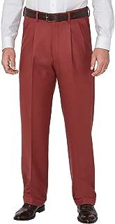 Paul Fredrick Men's Wool Flannel Pleated Pants