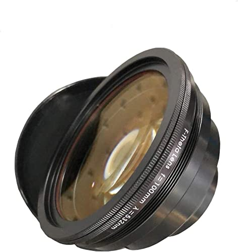 2021 Cloudray F-Theta Scan Lens popular Field online 70x70mm FL 100mm for 532nm Galvo System outlet online sale