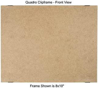 Quadro Clip Frame 8x10 inch Borderless Frame, Box of 12