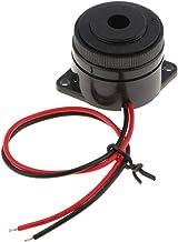 Akozon Buzzer Alarme sonore continuelle de c/âble sonore pi/ézo-/électrique de 3-24V Longueur de c/âble sonore 100mm
