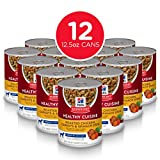 Hill's Science Diet Wet Dog Food, Adult 7+ for Senior Dogs, Healthy Cuisine, Roasted Chicken, Carrots, & Spinach Recipe, 12.5 oz Cans, 12 Pack