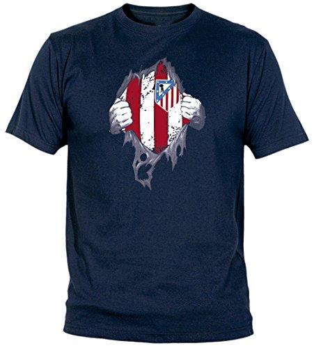 Desconocido Camiseta El Atleti En El Corazón Adulto/niño Camisetas del Atleti...