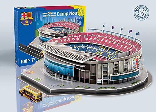 Giochi Preziosi 70202021 - 3D Stadion-Puzzle Nou Camp Barcelona