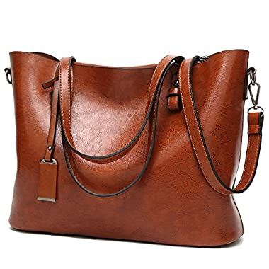 BNWVC Women Top Handle Satchel Handbags Tote Purse Shoulder Bag