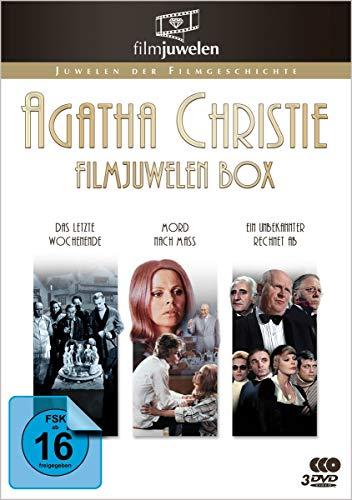 Agatha Christie Filmjuwelen Box - 3 Kino-Klassiker - [3 DVDs]