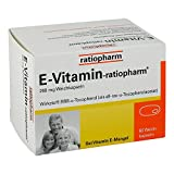 E Vitamin ratiopharm Kaps 60 stk